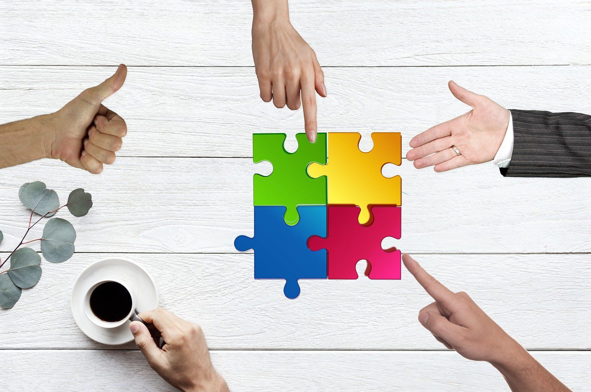 Zusammen arbeiten